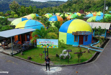 Nostalgia di Bukit Teletubbies Jogja