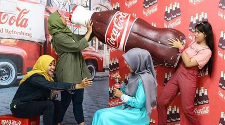 Snack Wonderland Jogja, Spot Selfie Bertema Snack yang Unik
